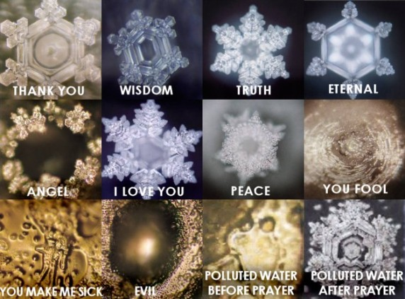 Positive-Energy-Water-Crystals